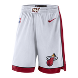 Nike Miami HEAT Swingman Shorts White - 1