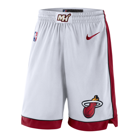 Nike Miami HEAT Swingman Shorts White