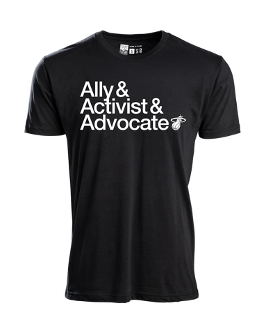 Court Culture Ally/Activist/Advocate Men's Tee