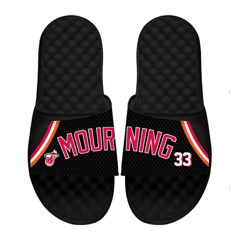 ISlide Miami HEAT Alonzo Mourning Sandals