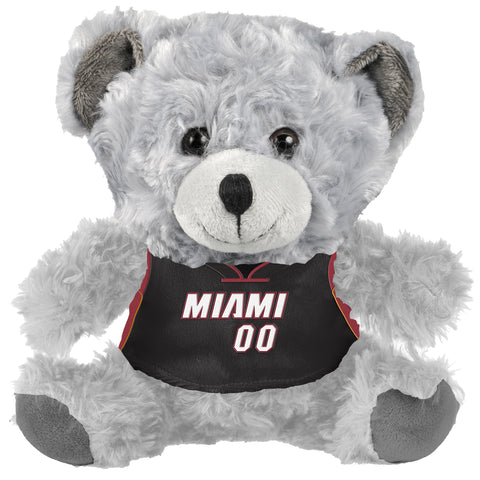 Forever Collectibles Miami HEAT Bear with Jersey