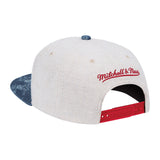 Mitchell & Ness Vacation Linen Snapback - 2