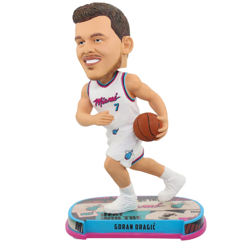 Forever Collectibles Miami HEAT Goran Dragic Vice Uniform City Edition Bobble Head