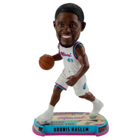Forever Collectibles Miami HEAT Udonis Haslem Vice Uniform City Edition Bobble Head