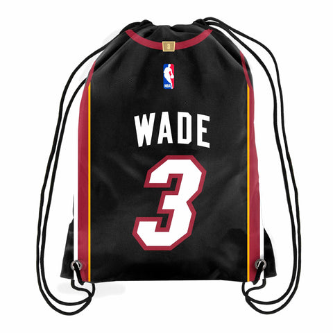 Forever Collectibles Miami HEAT Wade Drawstring Backback