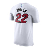 Jimmy Butler Association White Name & Number Tee - 2