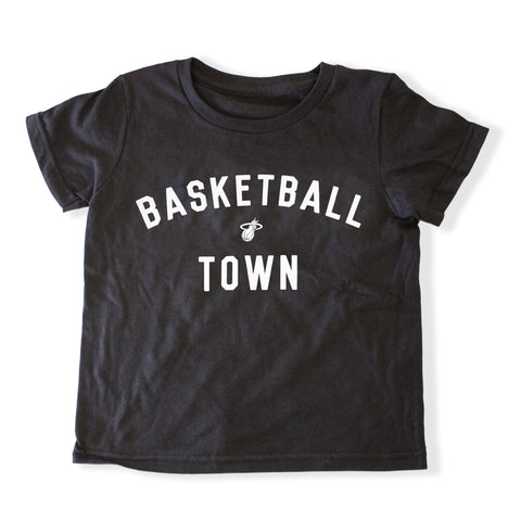 Court Culture Toddlers Basketball Town Tee