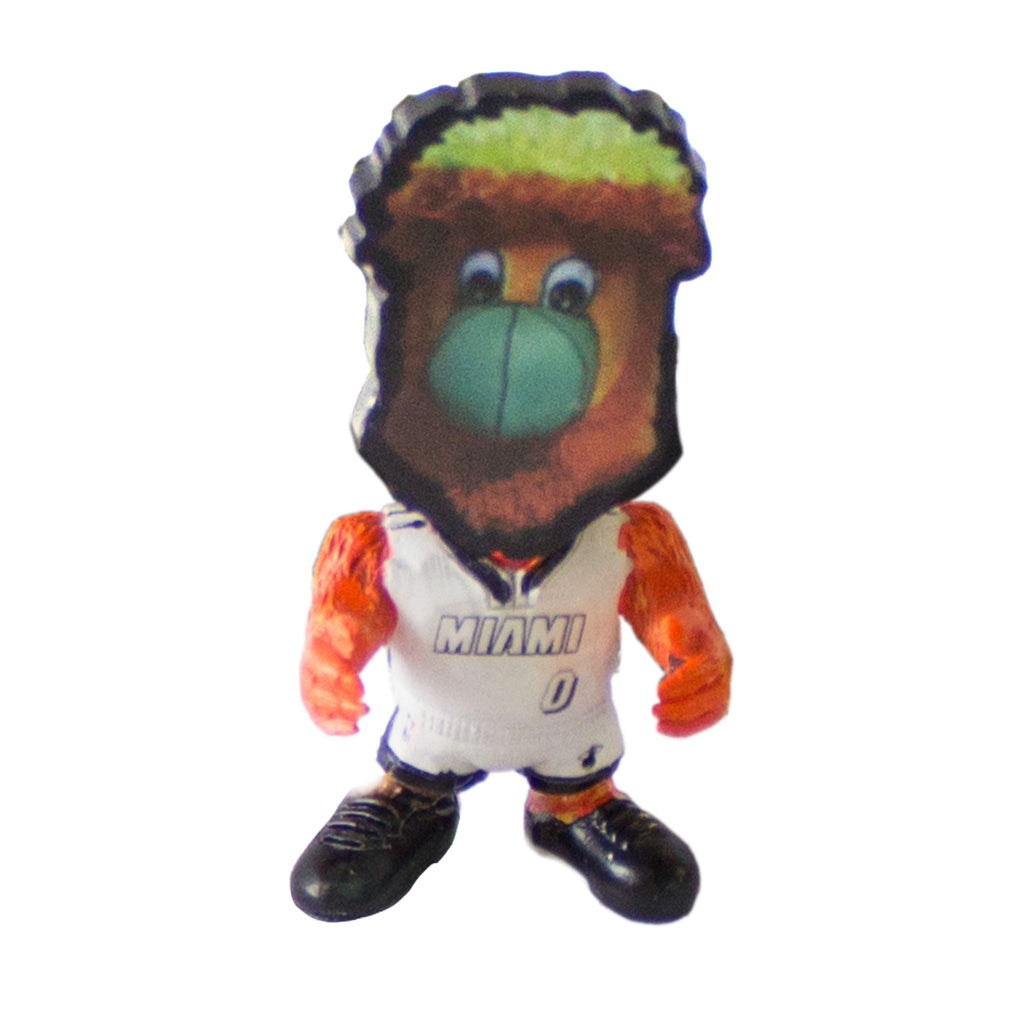 Forever Collectibles Miami HEAT Burnie Flathelete - featured image