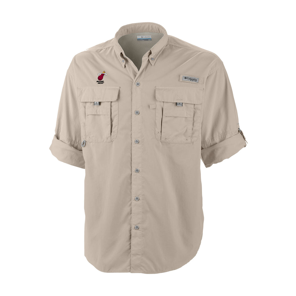 Columbia Miami HEAT Bahama Button Down - featured image