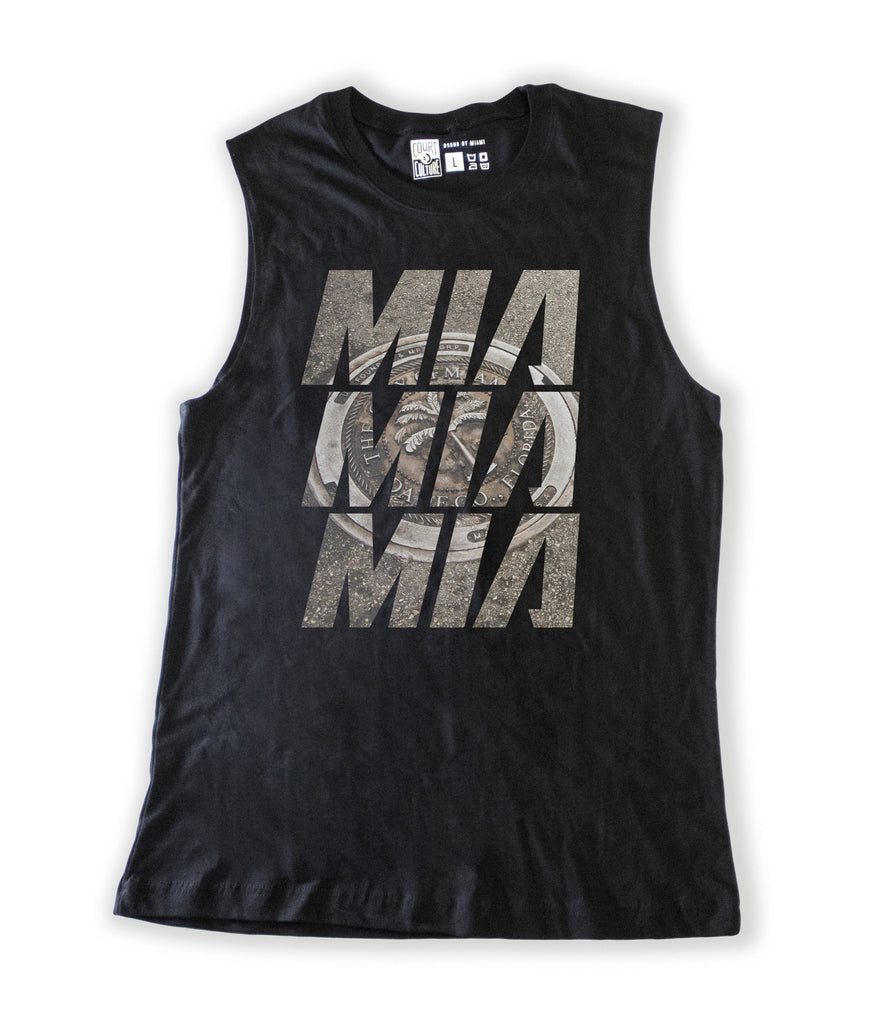 MIA Stacked Ladies Muscle Tank - featured image