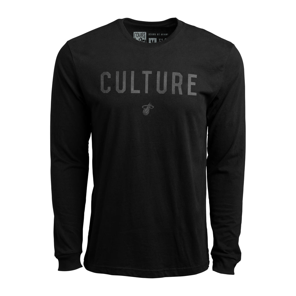 Court Culture Black Unisex Long Sleeve - featured image