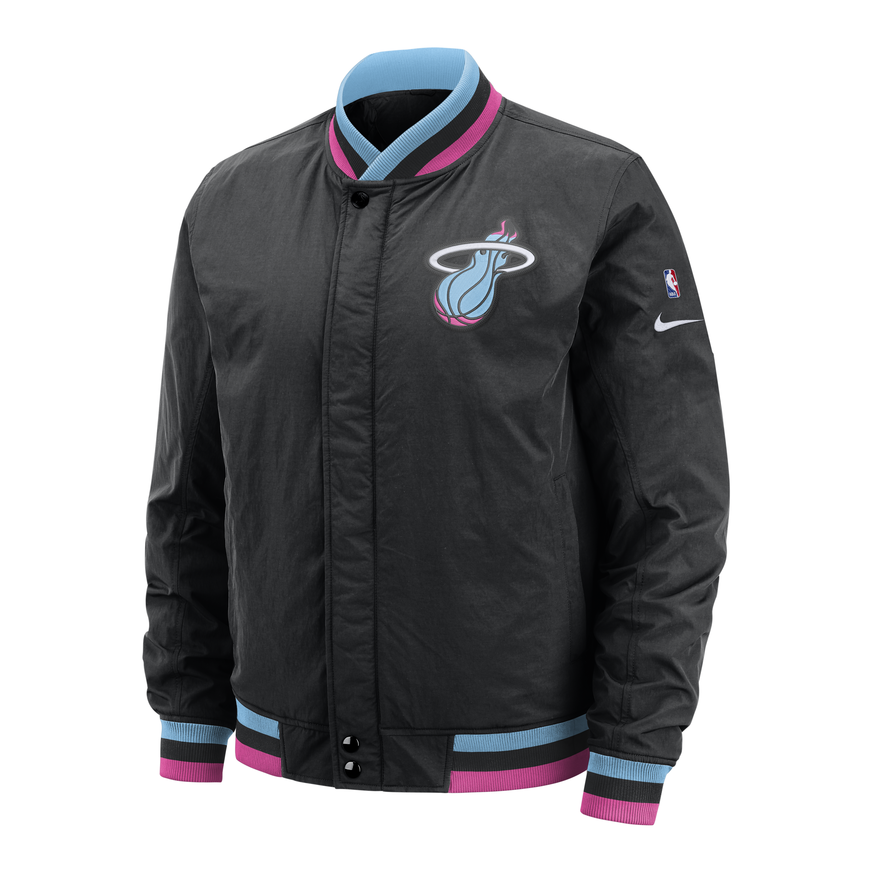 online retailer aa42c d7bf9 Nike Miami HEAT Vice Nights Courtside Jacket – Miami HEAT Store