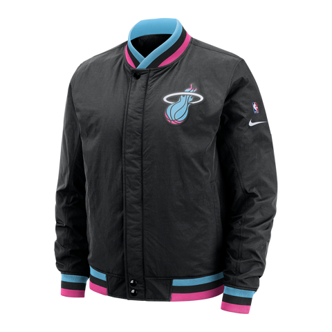 Nike Miami HEAT Vice Nights Courtside Jacket