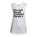 Court Culture Strong + Sexy + Confident Muscle Tank - 1