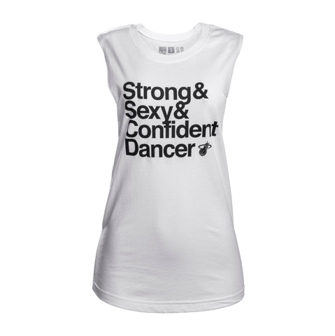 Court Culture Strong + Sexy + Confident Muscle Tank