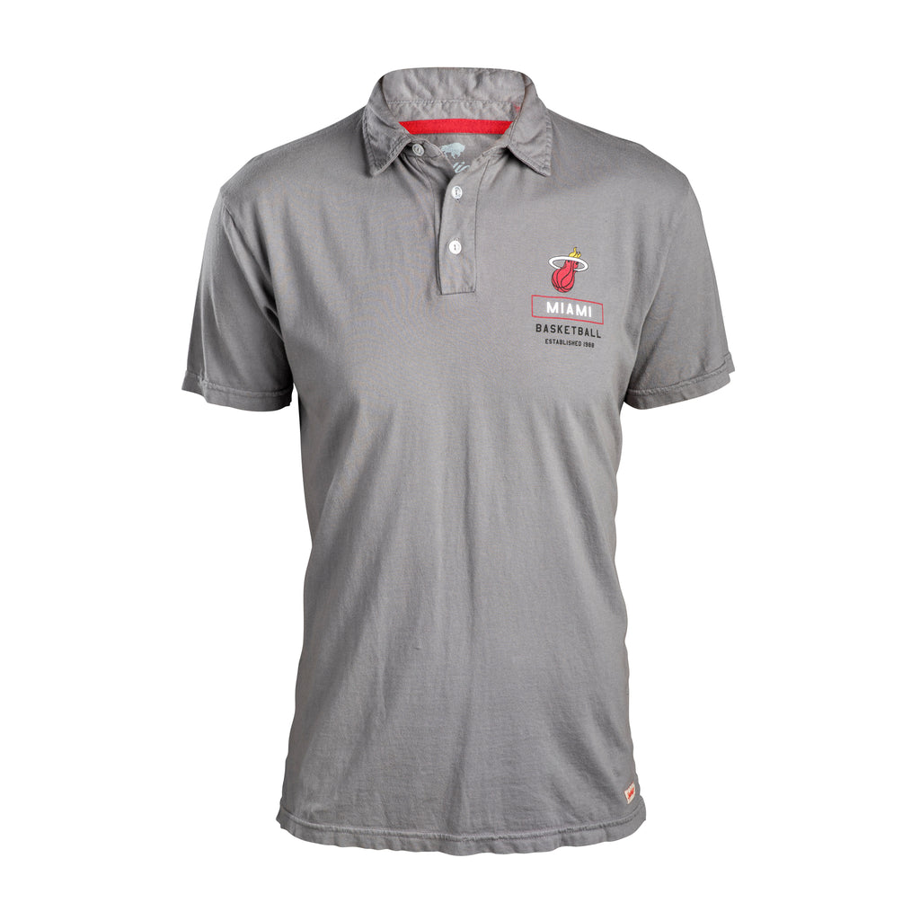 Sportiqe Miami HEAT Lexington Polo - featured image