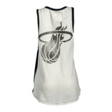 Touch By Alyssa Milano Miami HEAT Ladies Era Tank Top Tee - 2