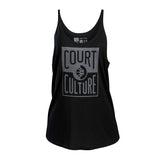 Court Culture Ladies Logo Tank - 1