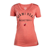 Sportiqe Miami HEAT Ladies Solice V- Neck - 1