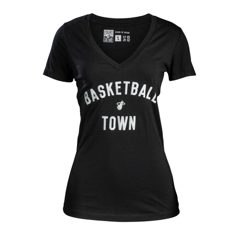 Court Culture Ladies Basketball Town Tee