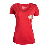 Ladies Miami Ball Club V-Neck Tee - 1