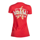Ladies Miami Ball Club V-Neck Tee - 2