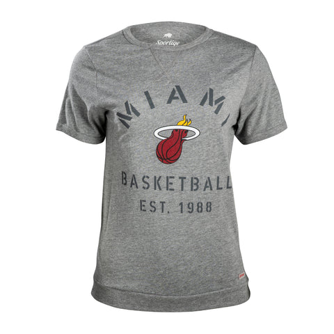 Sportiqe Miami HEAT Ladies Denise Tee