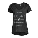 Sportiqe Miami HEAT Ladies Donia Vneck - 1