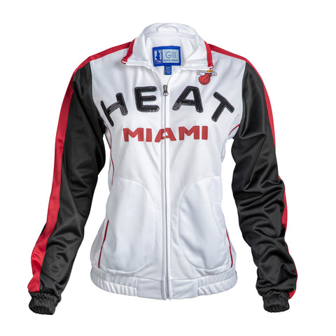 GIII Miami HEAT Ladies Sideline Jacket