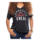 "Court Culture Women's Shaquille ""The Diesel"" O'Neal V-Neck - 2"