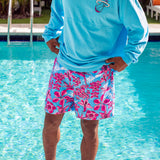 Court Culture Floral Fridays Swim Trunks - 3