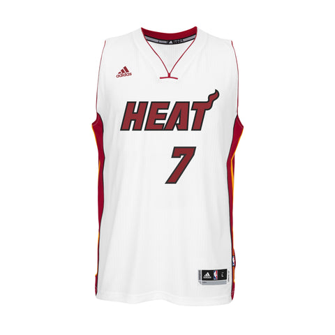Goran Dragic Miami HEAT adidas Home Youth Swingman Jersey White