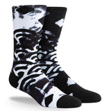 PKWY Dwyane Wade Remix Ebony & Ivory 3 Pack Socks - 4