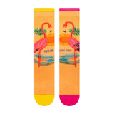 PKWY WADE REMIX Flamingoes Socks - 2