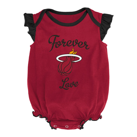 Miami HEAT Infant Girls Celebration 2 Piece Creeper