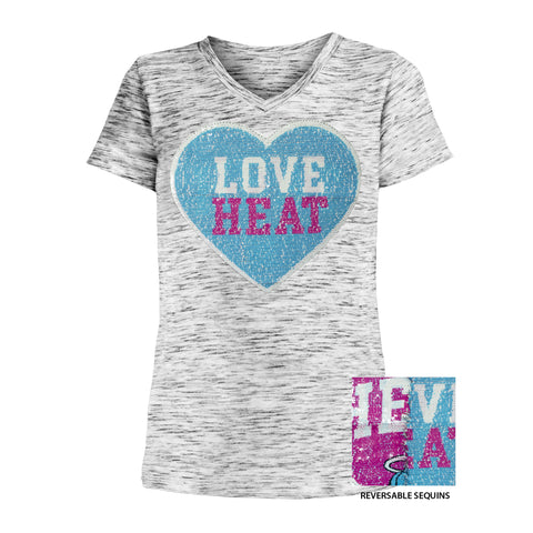 New ERA ViceWave Girls Heart Tee