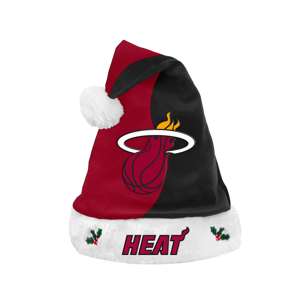 Forever Collectibles Miami HEAT 2017 Santa Hat - featured image