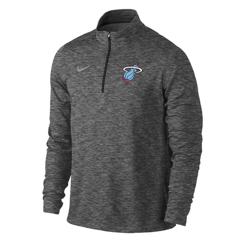 Nike Miami HEAT Vice Nights Long Sleeve Heather Element Top