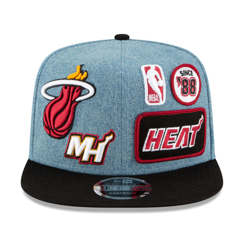 New ERA Heat Denim Patched Snap