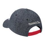 Mitchell & Ness Miami HEAT Heathered Snapback - 2