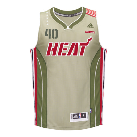 Udonis Haslem Miami HEAT adidas Home Strong Youth Swingman Jersey