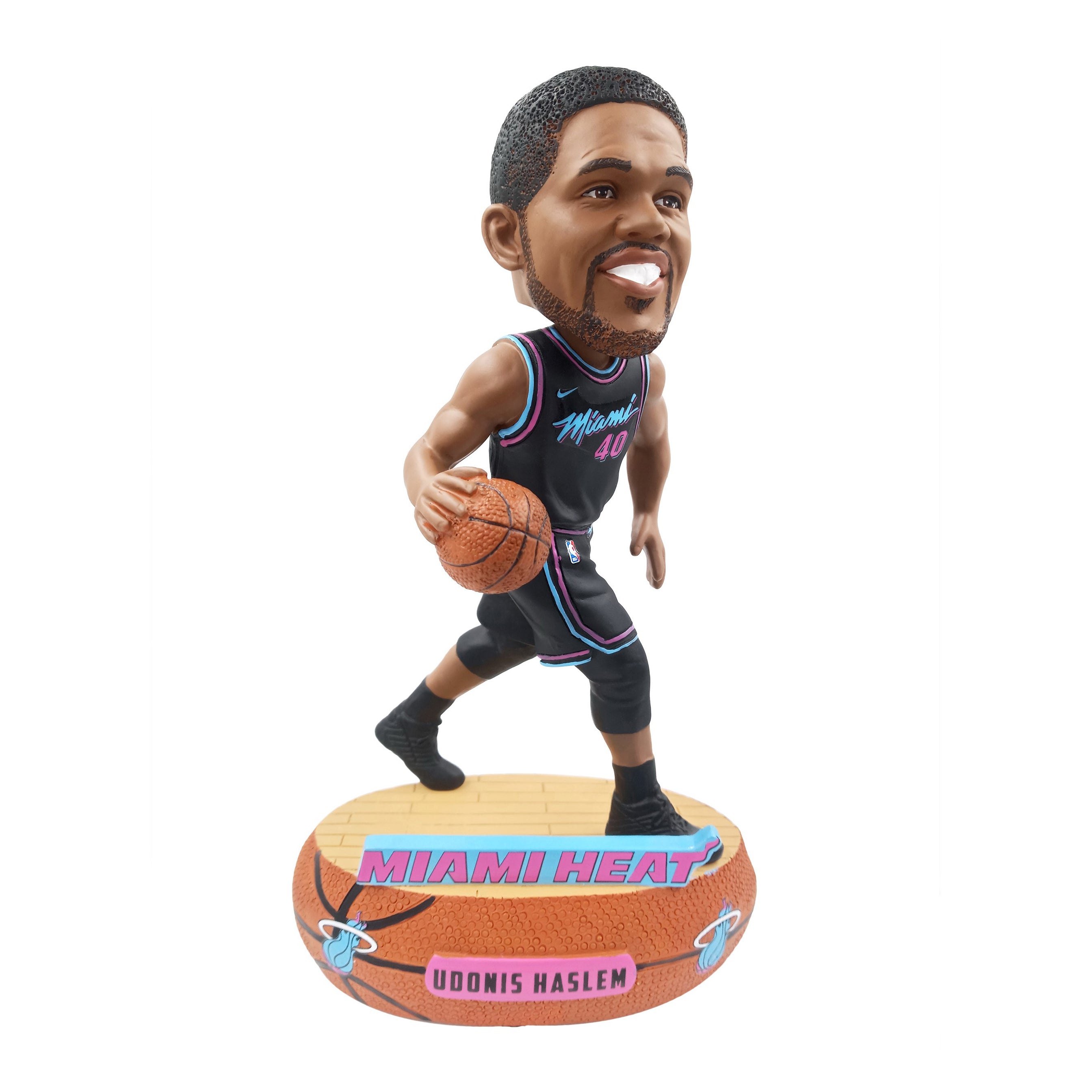outlet store 5b082 1357d Forever Collectibles Vice Nights Haslem Bobble Head