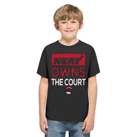 '47 Brand Youth Miami HEAT Owns The Court Black Tee
