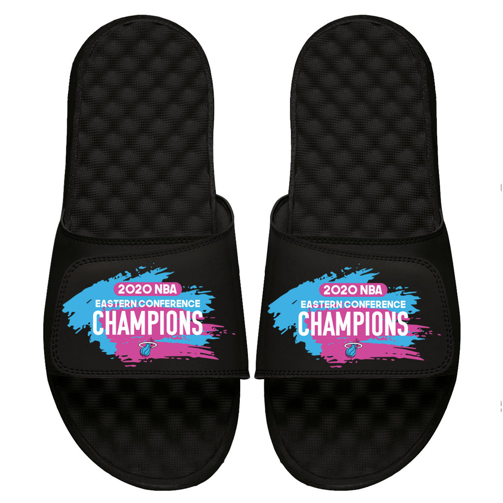 ISlide HEAT Vice 2020 Eastern Conference Champion Sandals - featured image