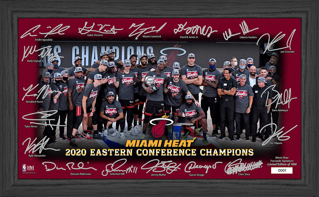 Highland Mint Eastern Conference Champs Facsimile Signature Frame - featured image