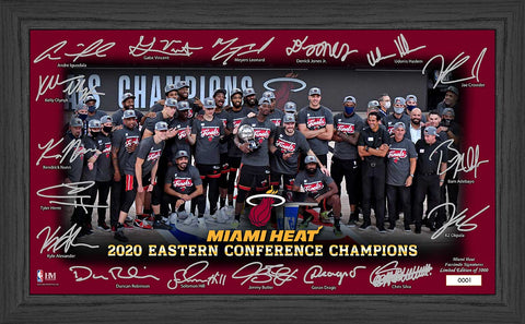 Highland Mint Eastern Conference Champs Facsimile Signature Frame