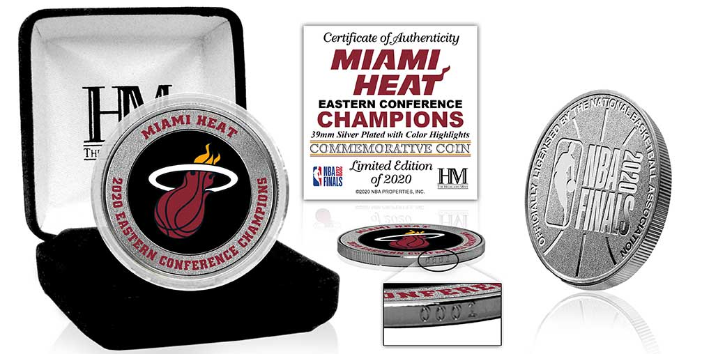 Highland Mint 2020 Eastern Conference Champion Mint Coin - featured image