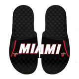 ISlide Miami HEAT Away Jersey Sandals - 1