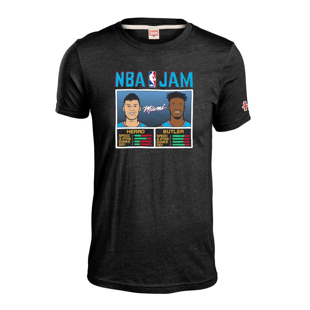 Homage Butler & Herro NBA JAM ViceWave Tee - featured image
