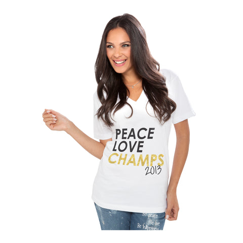 Peace Love World Miami HEAT Peace Love Champ Tee